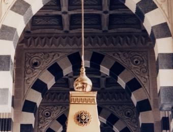 snipThe Prophet's Mosque Medinah, Lantern