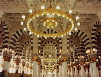 snipThe Prophet's Mosque Medinah, Prayer Hall