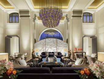Royal Savoy Lausanne Lobby